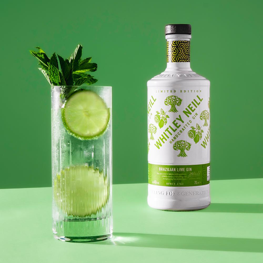 Obrázok k ginu Whitley Neill Brazilian Lime Gin