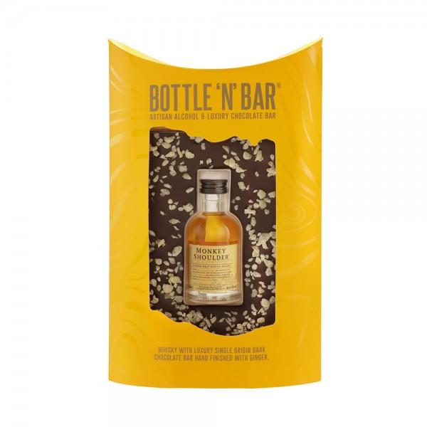 Bottle & Bar Monkey Shoulder Whisky & Dark Chocolate with Ginger 5cl