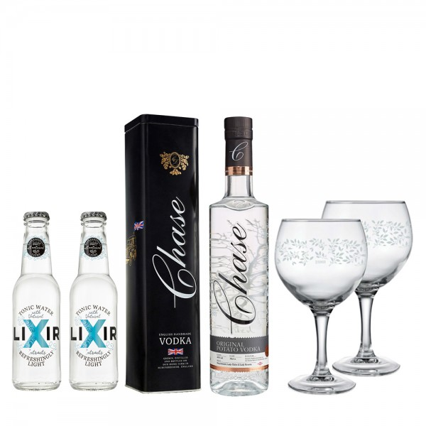 Chase Vodka Tin Gift Pack 70cl