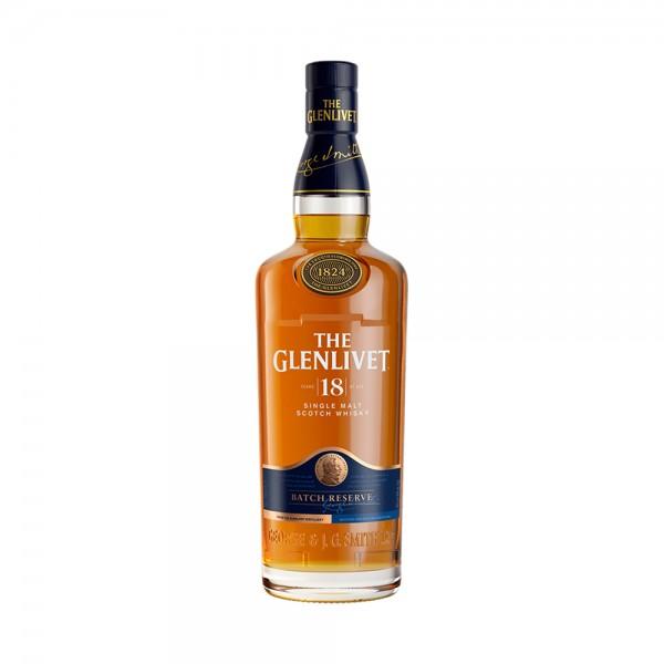The Glenlivet Single Malt Whisky 18 Years Old 70cl