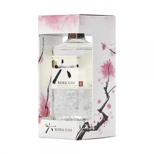 Roku Gin in Gift Box 70Cl