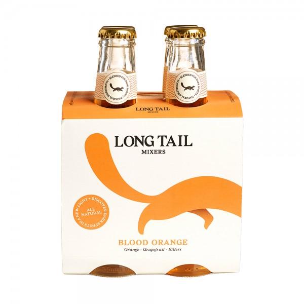 Long Tail Blood Orange Mixer 4x20cl