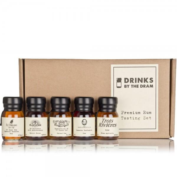 Premium Rum Tasting Set 5x3cl