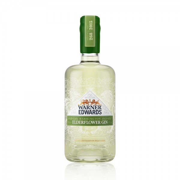 Warner Edwards Elderflower Infused Gin 70cl