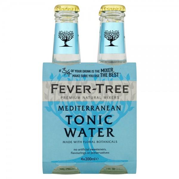 Fever Tree Mediterranean Tonic 4x200ml