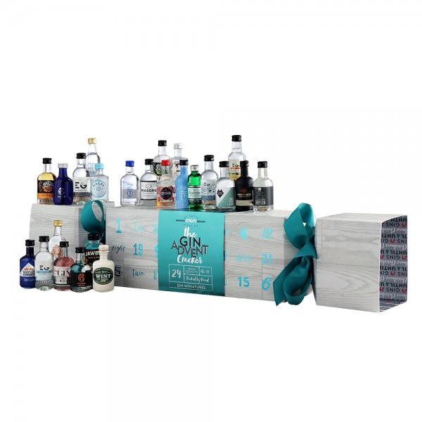 Gin Advent Cracker 24X5Cl - Blue