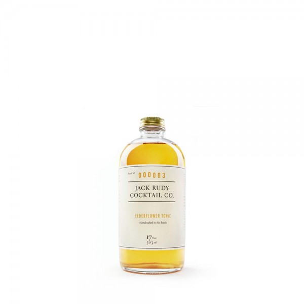 Jack Rudy Cocktail Co. Elderflower Tonic 50.3cl