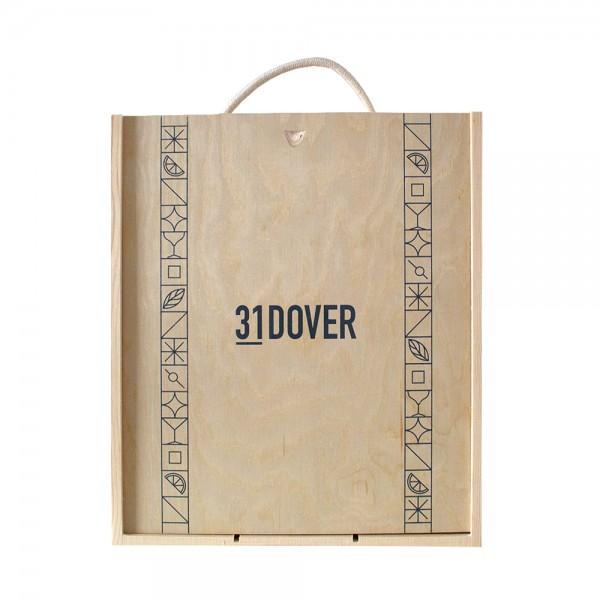 3 Bottle Wooden Wine Box
