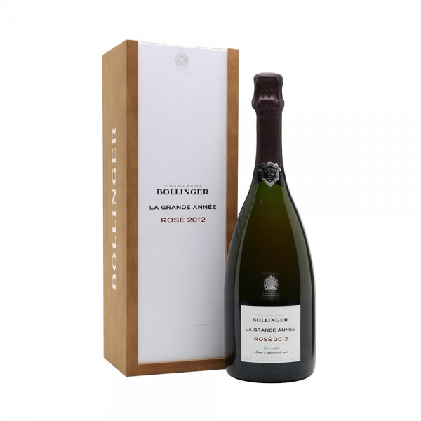Bollinger La Grande Année Rosé (2012) Gift Boxed 75cl