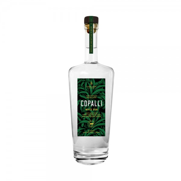 Copalli Single Estate White Rum 70Cl
