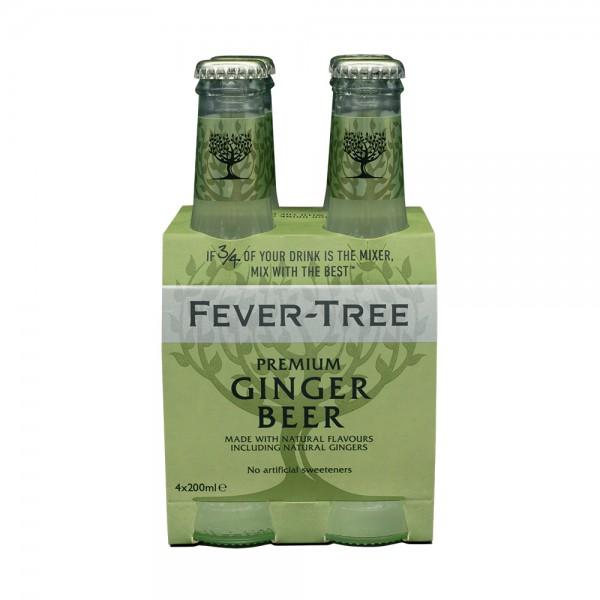 Fever-Tree Ginger Beer 4X20Cl