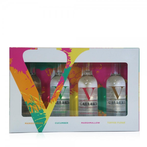 V Gallery Gift Set 4 x 5cl