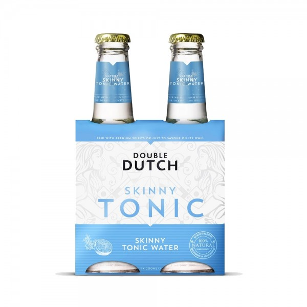 Double Dutch Skinny Tonic Water 4x200ml