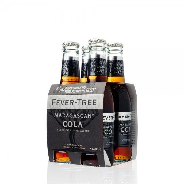 Fever Tree Madagascan Cola 4x200ml