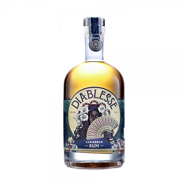 Diablesse Golden Caribbean Rum 70cl