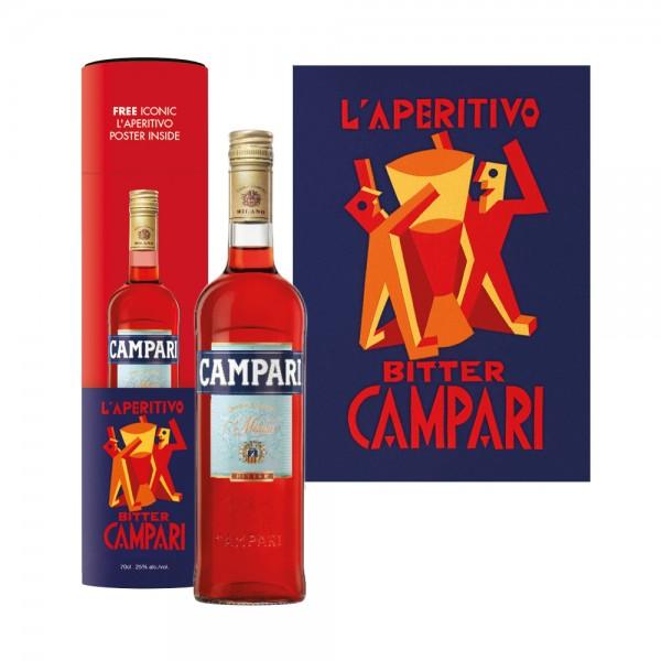 Campari Art Canister 70cl