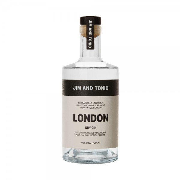 Jim and Tonic London Dry Gin 70cl