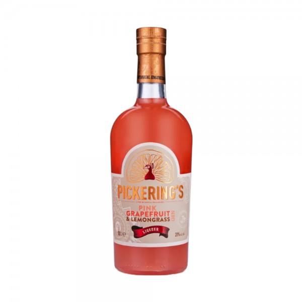 Pickering's Pink Grapefruit and Lemongrass Liqueur 50cl