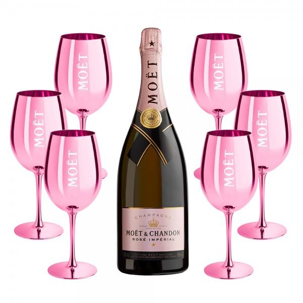 Moët Rosé Celebration Glass Pack 150cl