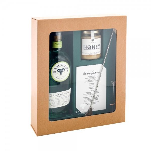 Ramsbury Gin Bee's Knees Gift Pack 70cl
