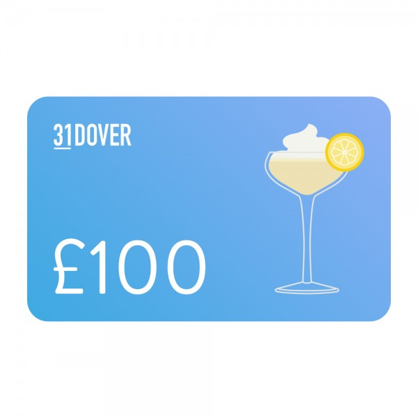 31DOVER Gift Card £100