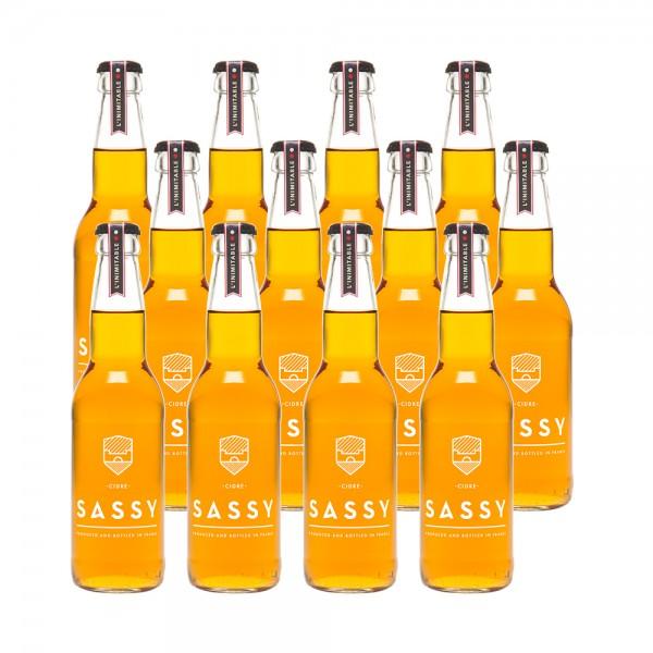 Maison Sassy Cider Brut 12x33Cl