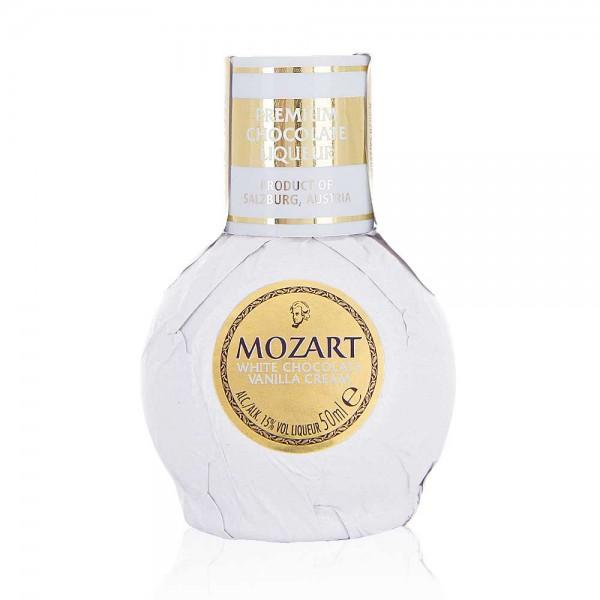 Mozart White Chocolate Vanilla Cream Liqueur 5cl