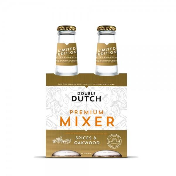 Double Dutch Spice & Oakwood 4x200ml