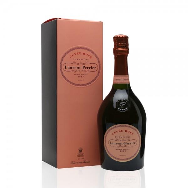 Laurent Perrier La Cuvee Rose Brut Gift Boxed 75cl
