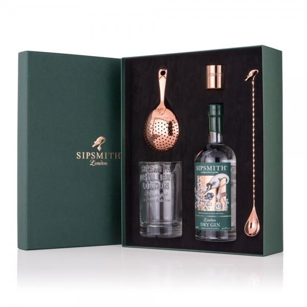 Sipsmith Premium Gift set - Martini Mixology Set 70cl