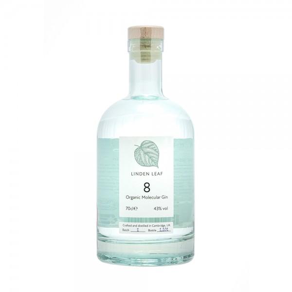 Linden Leaf Organic Molecular Gin 8 70Cl