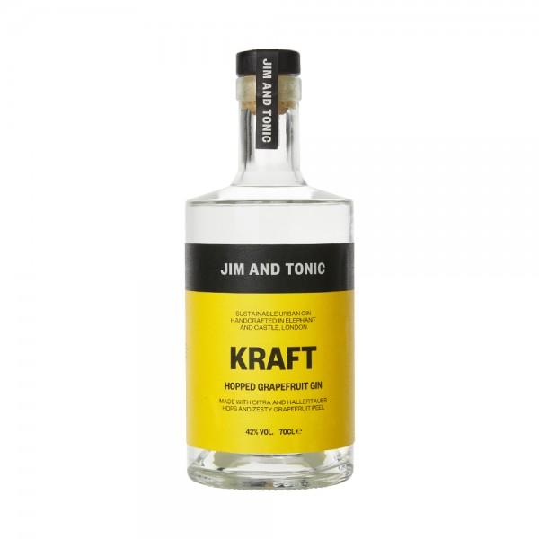 Jim and Tonic Kraft Hopped Grapefruit Gin 70cl