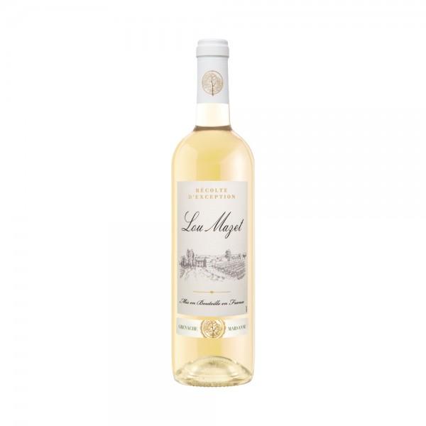 Lou Mazet White Wine 75Cl