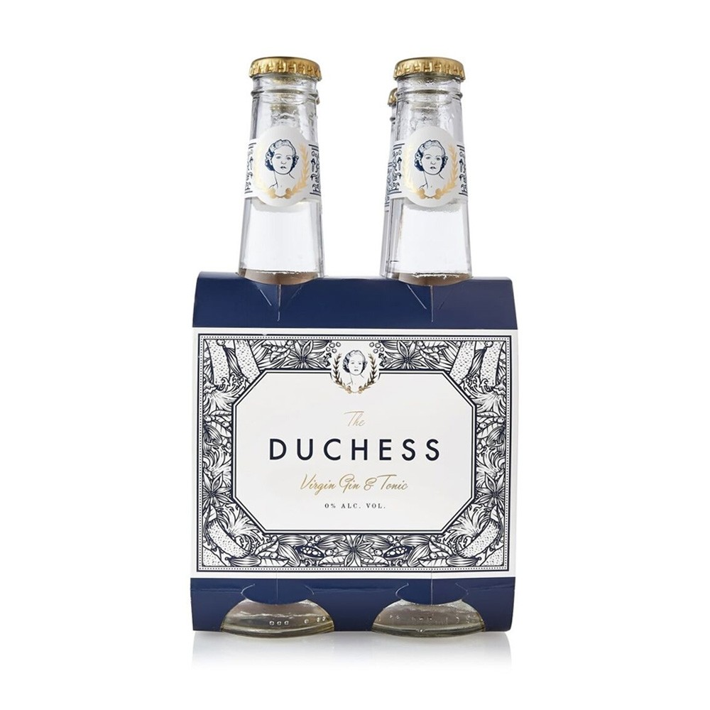 The Duchess Non-Alcoholic Gin & Tonic 4x275ml