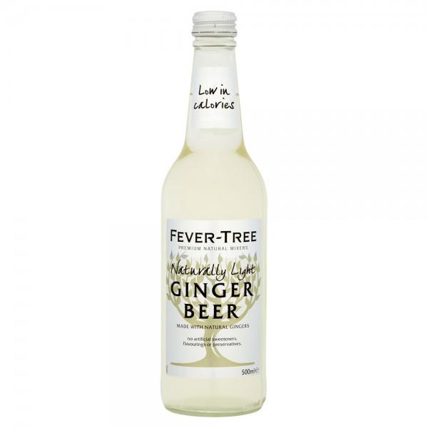 Fever Tree Naturally Light Tonic Ginger Beer