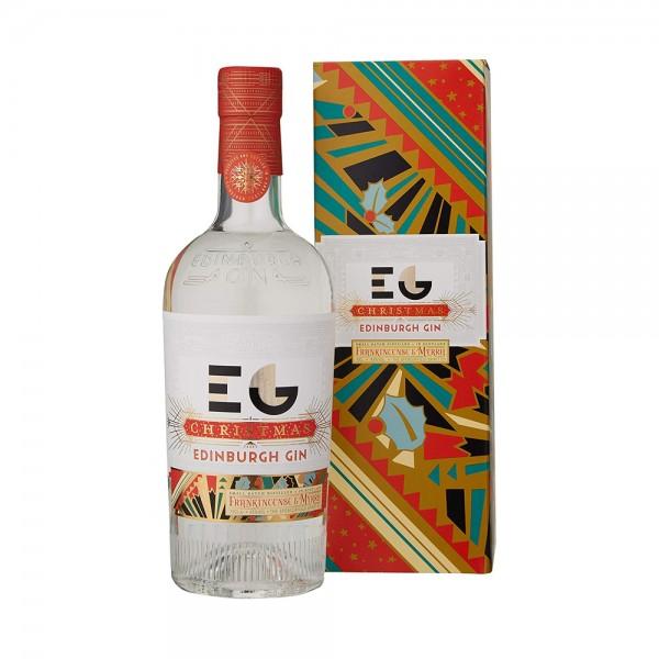 Edinburgh Christmas Gin 70Cl Gift Boxed