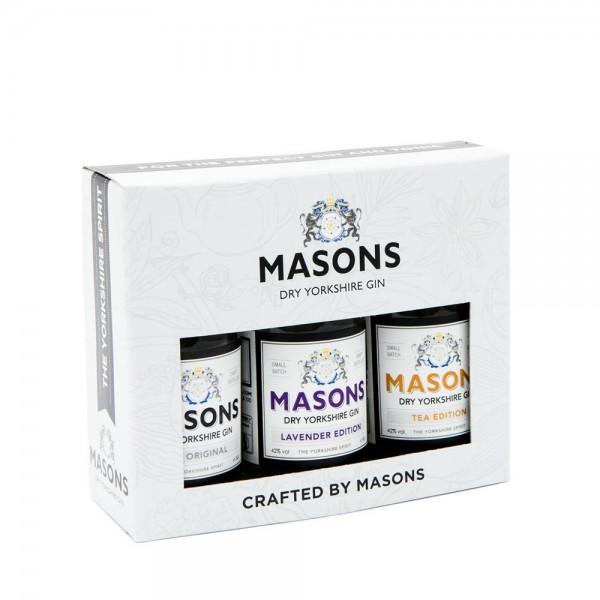 Masons Gin Gift Set 3x5cl