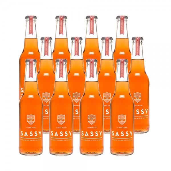 Maison Sassy Cider Rose 12x33Cl