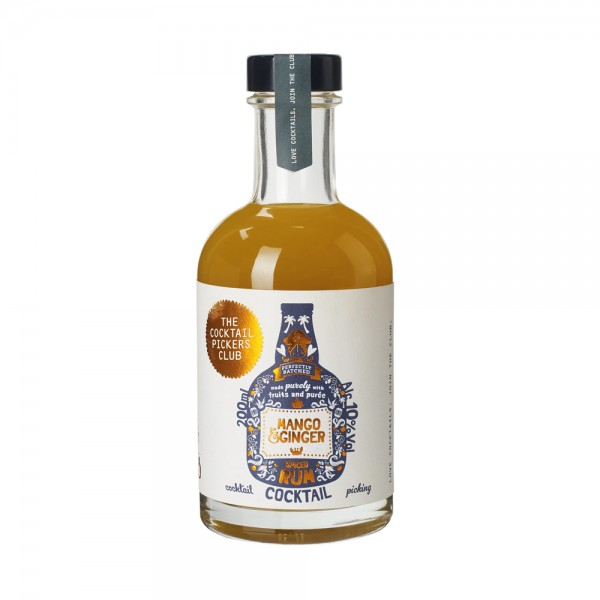 The Cocktail Picker's Club - Mango & Ginger Spiced Rum 20cl