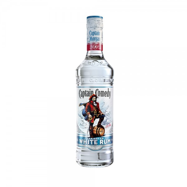 Captain Morgan White rum - Comedy