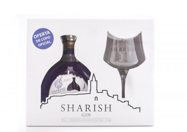 Sharish Blue Magic 1 Glass Gift Pack 50cl