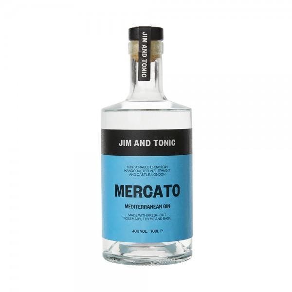 Jim and Tonic Mercato Mediterranean Gin 70cl