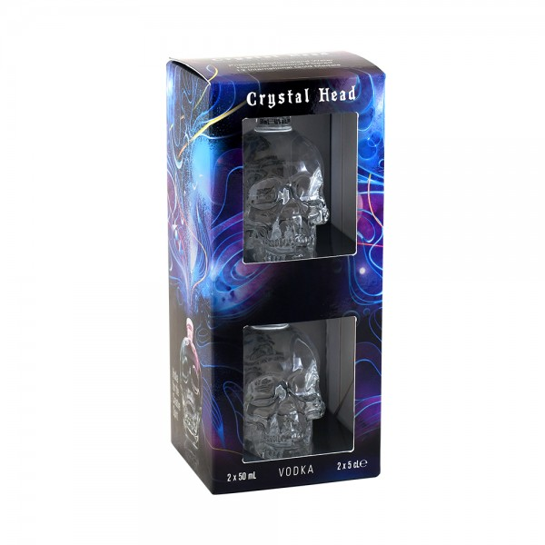 Crystal Head Vodka Gift Set 2x5cl