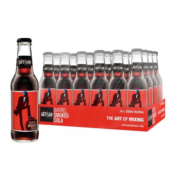 Artisan Smoked Barrel Cola 24X20cl
