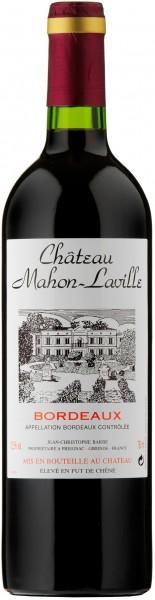 Chateau Mahon-Laville Bordeaux Supérieur 75cl
