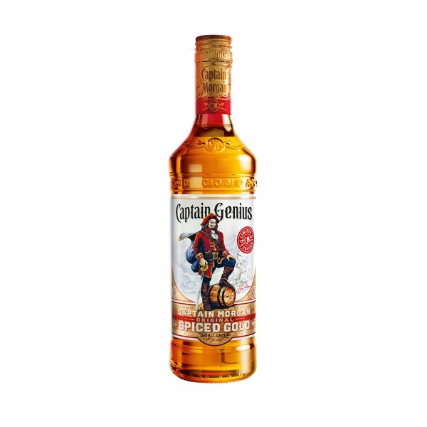Captain Morgan Spiced Rum - Genius