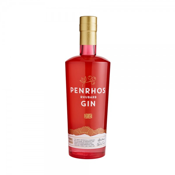 Penrhos Rhubarb Gin 70cl