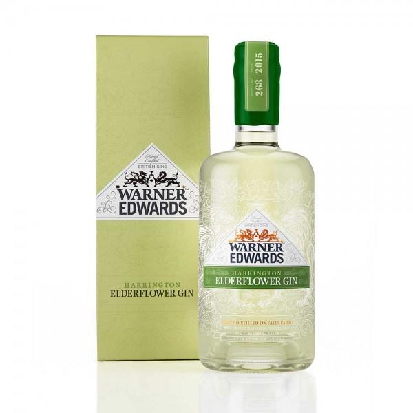 Warner Edwards Elderflower Infused Gin Gift Boxed 70cl