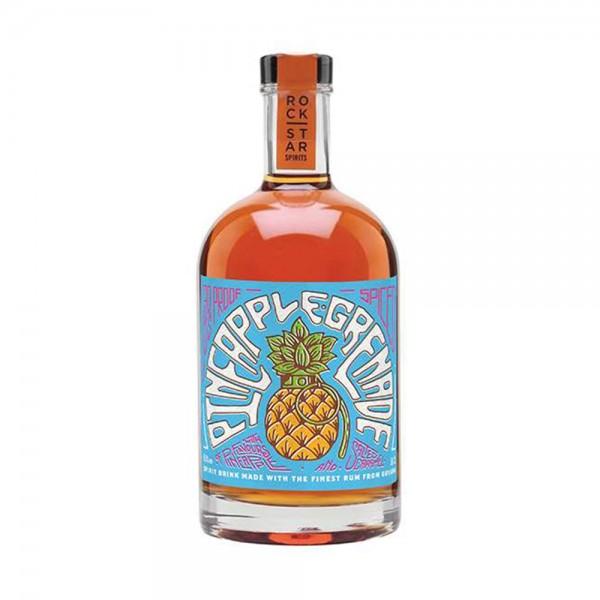 Rockstar Spirits Pineapple Grenade Overproof Rum (65% ABV) 50cl
