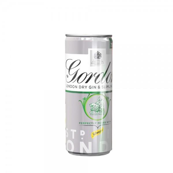 Gordon's Slim Tonic 250ml